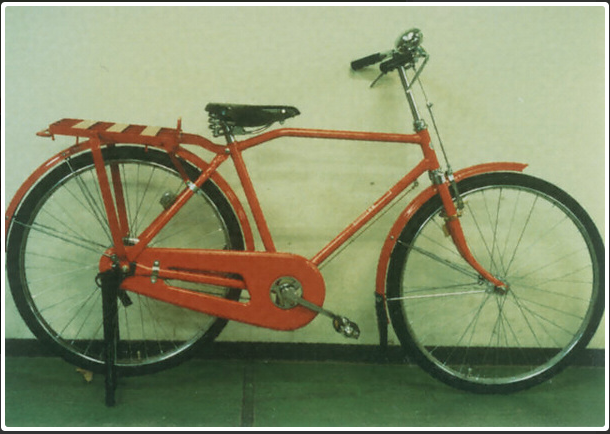 Postal-bicycle
